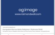Tips Memasang Open Graph Meta Tag Facebook di Blog